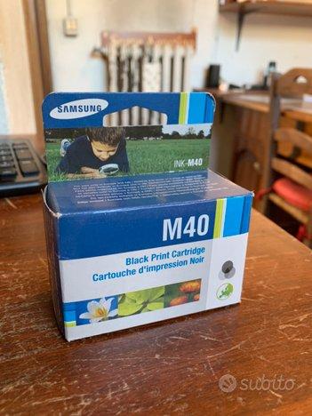 Cartuccia inchiostro Samsung M40 nuova sigillata