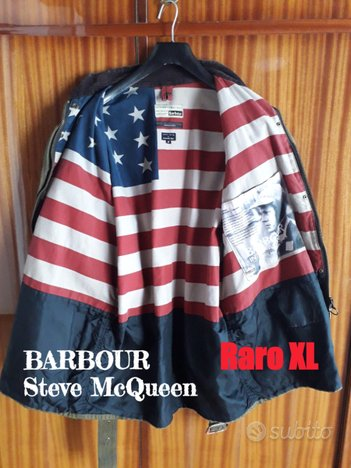 BARBOUR INTERNATIONAL Rexton Steve McQueen giacca
