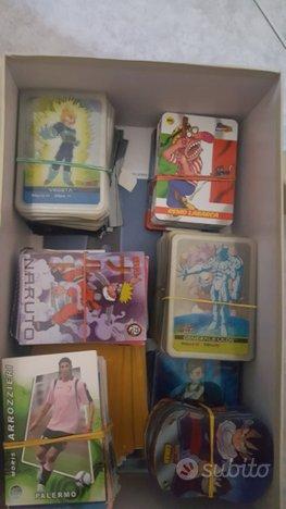 Scatola di lamincards e carte