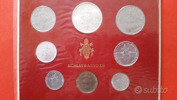 Monete Vaticano Divisionale Ufficiale