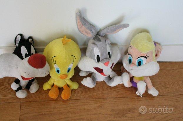 Peluche Pupazzo Looney Tunes Bugs Bunny, Lola Bunn