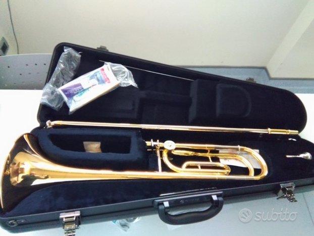 Trombone Tenore Yamaha YSL-448-GE Sib/Fa