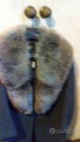 Collo di volpe canadese selvaggia grigio naturale