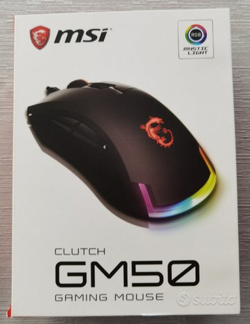 MSI Clutch GM50 Mouse Gaming NUOVO