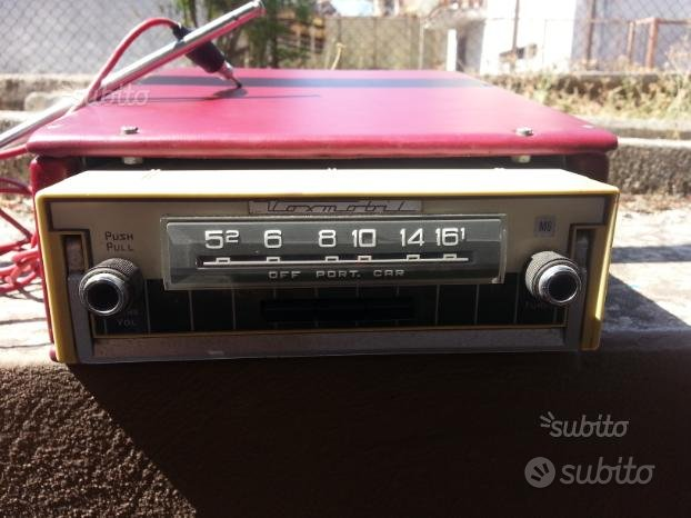 Stereo d'epoca autovox oldmobile estraibile