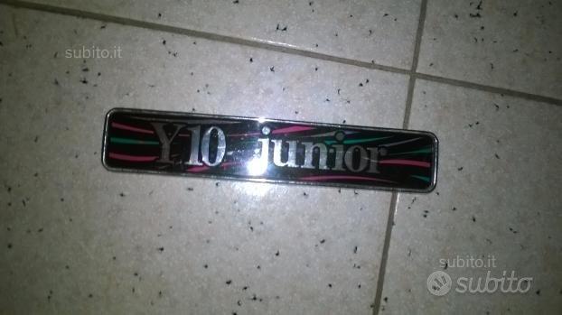 Serigrafia posteriore per autobianchi y 10 junior