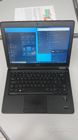 DELL LAT. E7250 CPU i5-5300U Ssd msata 128gb Ram 8