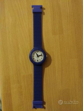 Orologio HIP HOP con cinturino blu