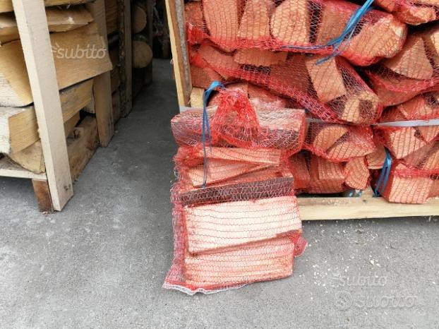 Legna da ardere, faggio, Sacchetto Kg 10, cm. 33