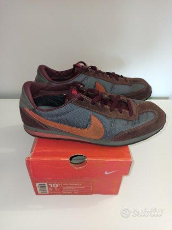 Nike Mach Runner marrone/arancio n°44.5