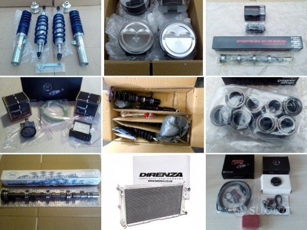 Ricambi e accessori tuning racing (leggi)