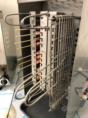 Macchina per arrosticini e salsicce elettrica