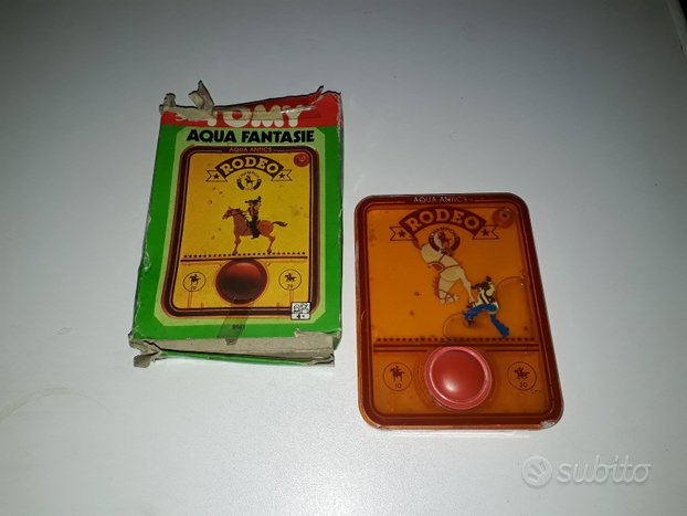 Tomy Rodeo giocattolo vintage anni 80