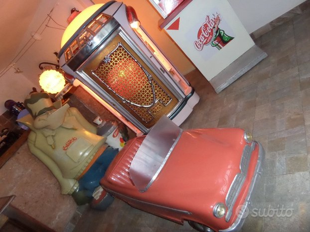 Auto pedali vintage rara da vetrina