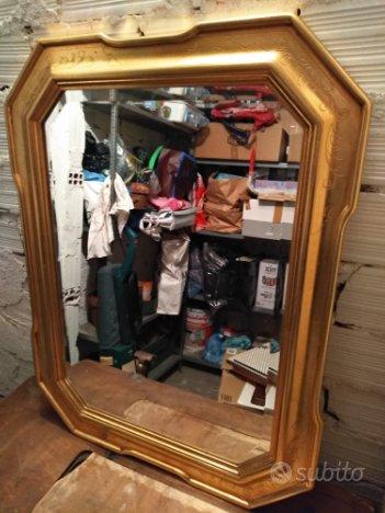 Specchio stile classico con cornice dorata arredamento e casalinghi in vendita a torino - Specchio con cornice dorata ...