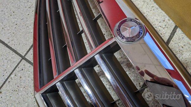 Griglia radiatore cromata mercedes c