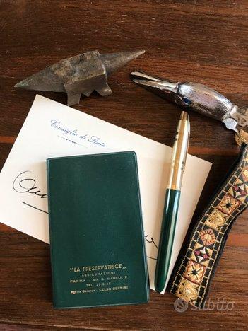 Stilografica Condor vintage incudine pinza fogli