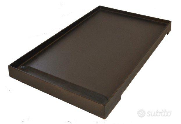 Bistecchiera liscia smalta 64x44 cm