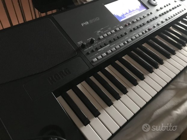 Korg pa600 intelligent arranger