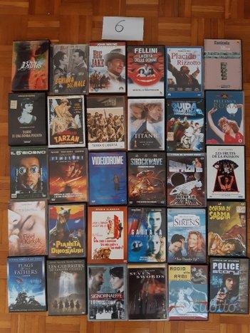 DVD usati film vari serie TV cofanetti lotto P-S