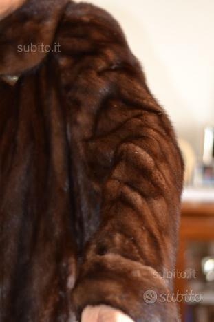 Pelliccia visone maschio Black Glama
