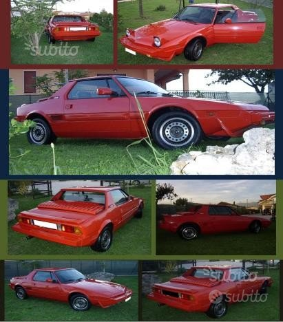 FIAT X1/9 2ª serie - 1988