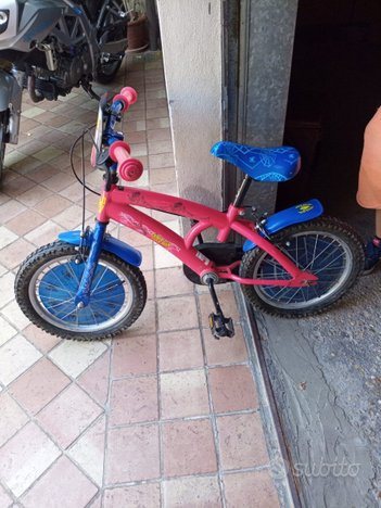 Bici bimbo Spiderman