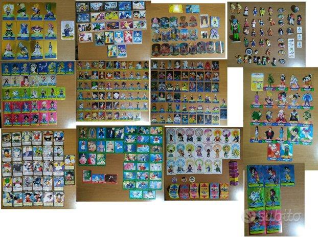 Carte DragonBall Z, GT, Yu-Gi-Ho, Invizimals