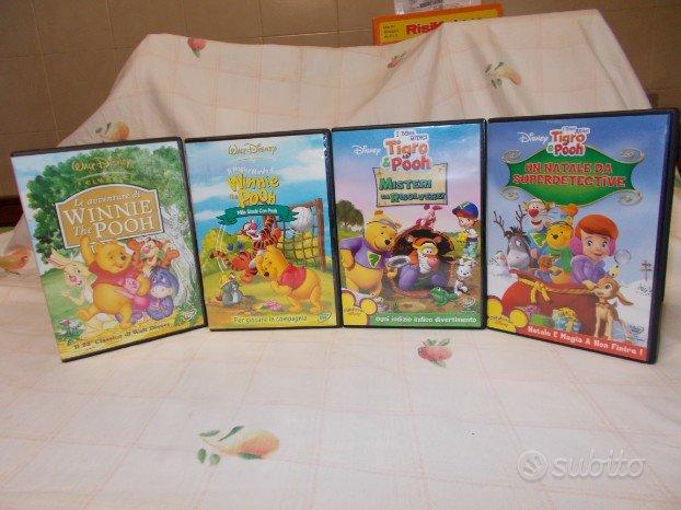 Winnie più altri dvd originali disney ligiochibri