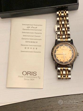 Oris Orologio Meccanico Vintage