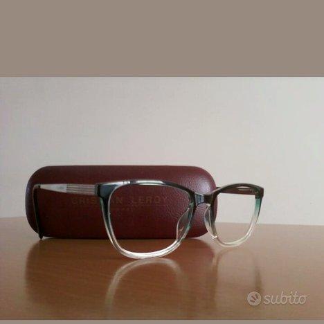 Montatura occhiali con custodia