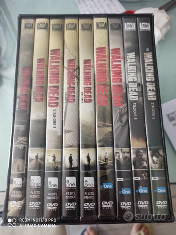 Serie The Walking Dead 40dvd Stagioni 1-9 nuOVO