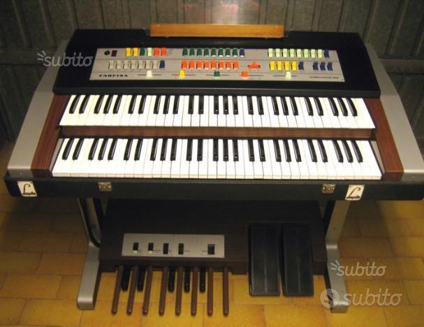 Tastiera port. Farfisa Compact Professional Duo
