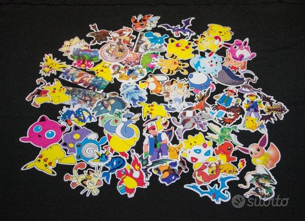 Collezione adesivi sticker pokemon go pickachu