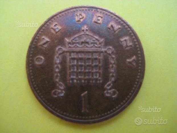 1 Penny Inglese 1991 ( Rif. 146 )
