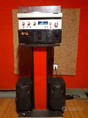 Stereo Impianto hi fi vintage completo
