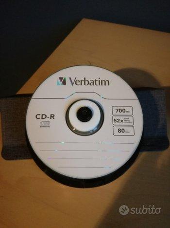NUOVO 25 CD-R + custodia 32 CD/DVD