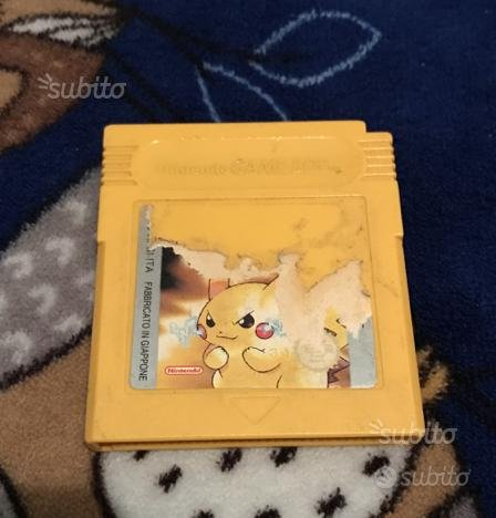 Pokémon giallo ita