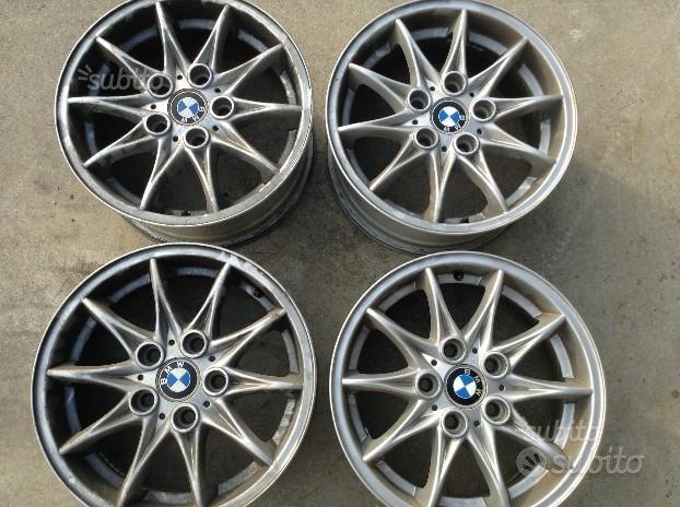 CERCHI IN LEGA7x16 5x120 ET47 ORIGINALI BMW S3