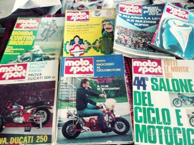 Riviste auto e moto anni 70