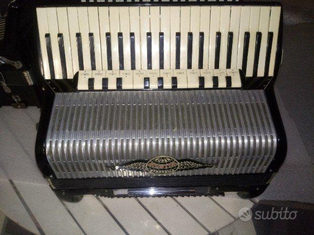 Fisarmonica supergiustini 120 bassi casotto