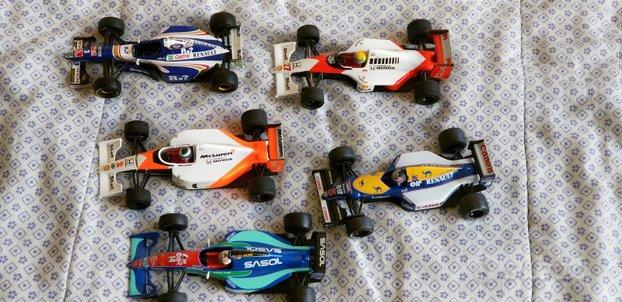 Modellini Onyx Formula 1 scala 1/43