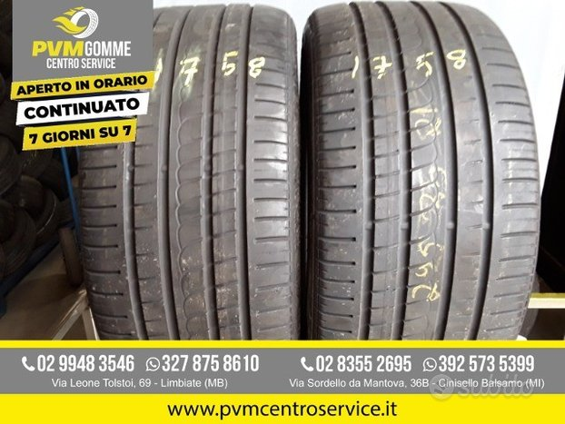 Gomme usate 295 35 21 107y pirelli