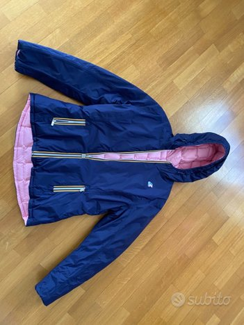 Kway Donna double blu-rosa 150