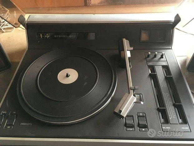 Giradischi vintage Philips Stereo 907