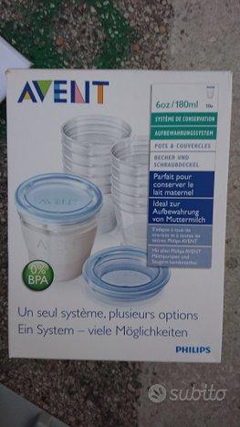 10 contenitori latte per conservazione Avent