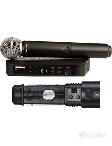 SHURE BLX24/BETA58A Radio-microfono wireless profe