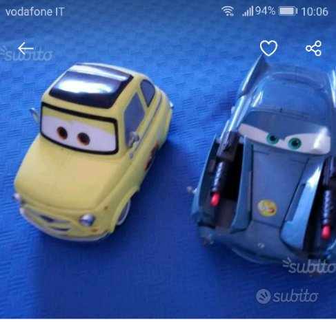 Due auto Disney Cars