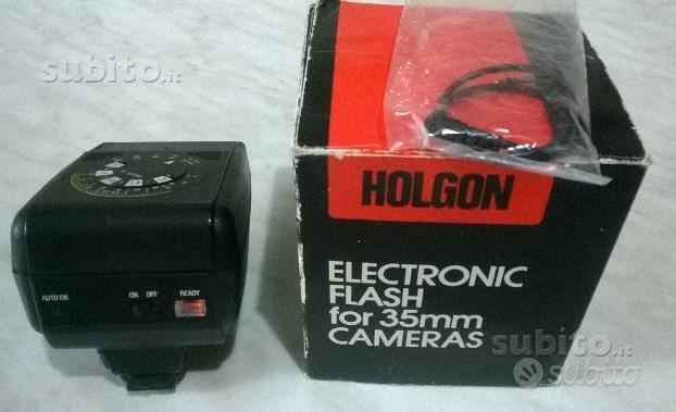 Flash elettronico a slitta holgon mod. 280 pc aut