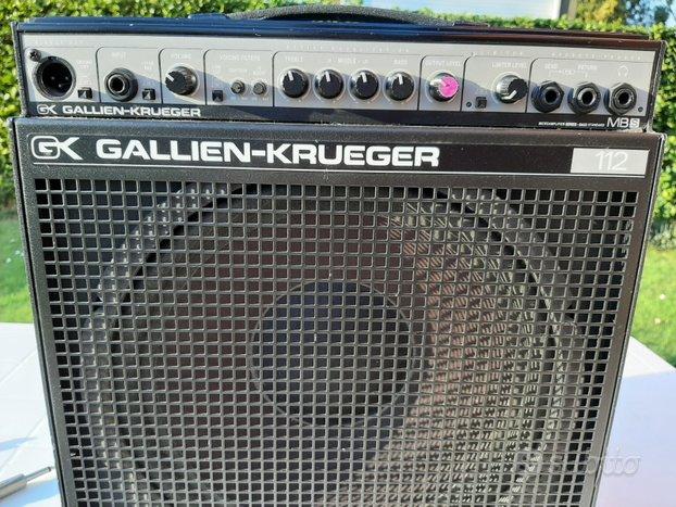 Amplificatore gallien-krueger mb112 s per basso